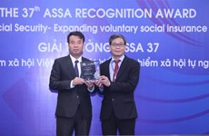 Vietnam honoured for voluntary social insurance coverage efforts