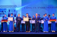 Nestle Vietnam honoured with Vietnam Environment Awards