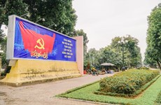 Hanoi's streets adorned to welcome 13th National Party Congress