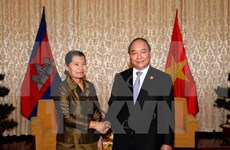 Deputy PM greets Reunification Day guests