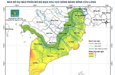 Saltwater intrusion in Mekong Delta projected to increase