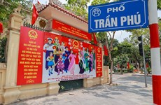 Hanoi streets adorned to welcome 'national festival'
