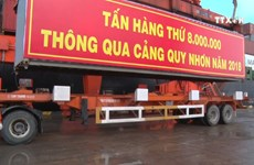 Quy Nhon port handles 8 million tonnes of goods