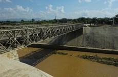 Dien Bien Phu battlefield relic in repair