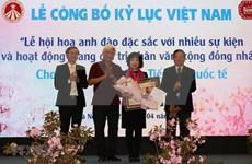 Cherry blossom festival makes Vietnam record
