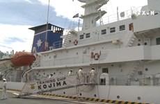 Japan coast guard ship arrives in Da Nang
