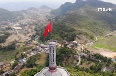 Lung Cu flag tower marks ninth year of inauguration