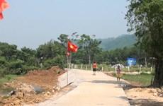 New bridge brings joys to people in flood-hit area