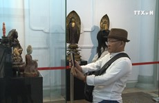 Exhibition on ancient Buddha statues opens in HCM City