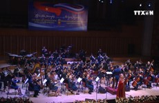 Russian military band enthralls Vietnamese audience