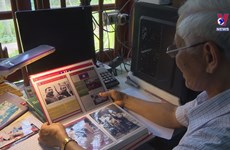 Man spends 20 years collecting documents of Uncle Ho