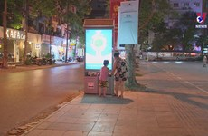 High-tech trash bins wow Hanoians