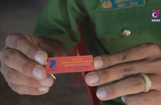 Security keychain tags help ease social disorder in Kien Giang