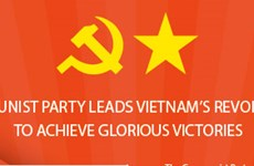 Party leads Vietnam's revolution to achieve glorious victories
