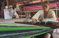 Unique brocade weaving craft of Vietnamese ethnic groups