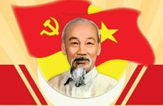 President Ho Chi Minh - founder of the Communist Party of Vietnam