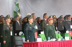 Vietnam, China militaries perform emergency drill