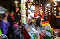 German Christmas market in Hanoi