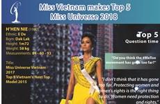 Miss Vietnam makes Miss Universe Top 5