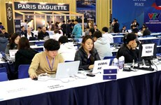Media centre for summit officially opens to journalists