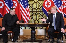 US President, DPRK Chairman meet for nuclear talks