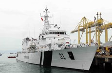 Da Nang welcomes Indian coast guard ship
