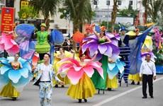 Street carnival in Sam Son
