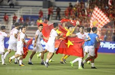 Vietnam win first ever SEA Games gold in men's football