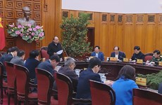 PM chairs working session on coronavirus prevention, control