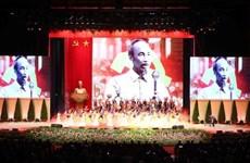 Ceremony marks President Ho Chi Minh's birthday