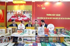 Books, newspapers on showcase to mark Party Congress