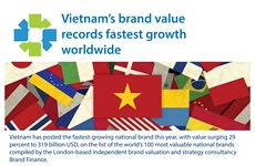 Vietnam becomes fastest growing national brand in the world