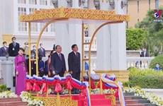 Vietnam President's visit deepens special ties with Laos