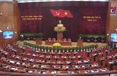 Party Central Committee's fourth plenum concludes