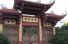 The ancient beauty of Thien Nien pagoda at West Lake