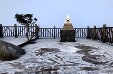 New discovery: Fansipan peak is higher than 110 years ago