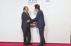 PM Nguyen Xuan Phuc congratulated Japan on the G20's success