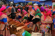Explore the traditional market on the highlands of Bac Ha