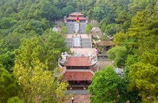 Shrine of the eternal praiseworthy educator Chu Van An