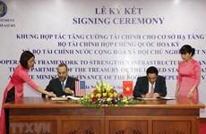Framework to strengthen infrastructure between Vietnam and the US