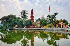 Tran Quoc pagoda: The oldest pagoda in Hanoi