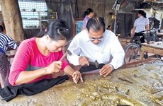 Dong Xam: The new face for the 600-year-old silver-carving village