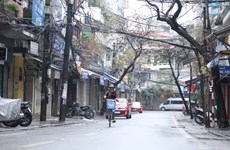 Peaceful beauty of Hanoi on the transition to a new year