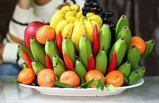 The meaning of Five-fruit tray during Tet and how to make it