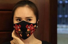Vietnamese design masks draw attention of foreign press