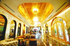 The world most gilded hotel opens in Hanoi