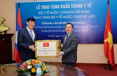 Vietnam and Lao strengthen coordination in prevention and control the Covid-19 pandemic