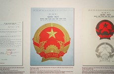 The story of the Vietnamese emblem after 65 years of being designed