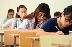 High school graduation exam: Parents and students actively prevent Covid-19