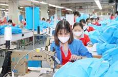 Germany supports textile workers in Vietnam affected by COVID-19